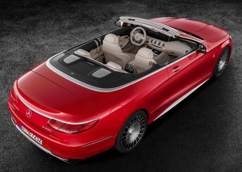 2017 MAYBACH S650 Cabrio