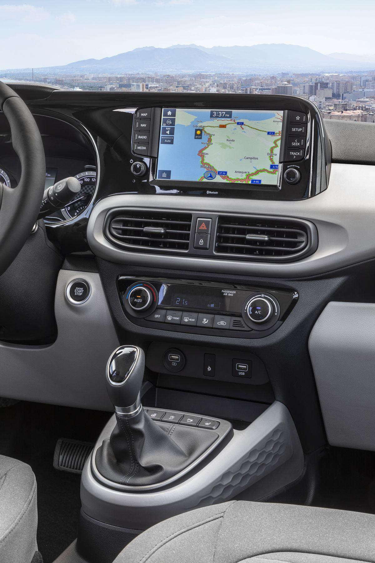 Hyundai i10 , 8 inç dokunmatik ekranı ile Android Auto ve Apple Carplay  destekleri ile teknolojik olarak da yenilikçi, kullanışlı ,modern çizgilere sahip olan bir model olacağa benziyor.2020 Hyundai i10 Fiyat