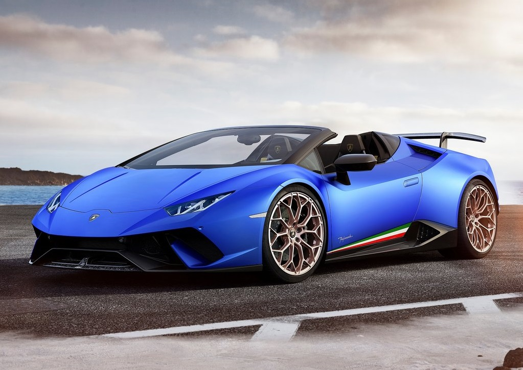2019 LAMBORGHINI HURACAN PERFORMANTE SPYDER-oopscars