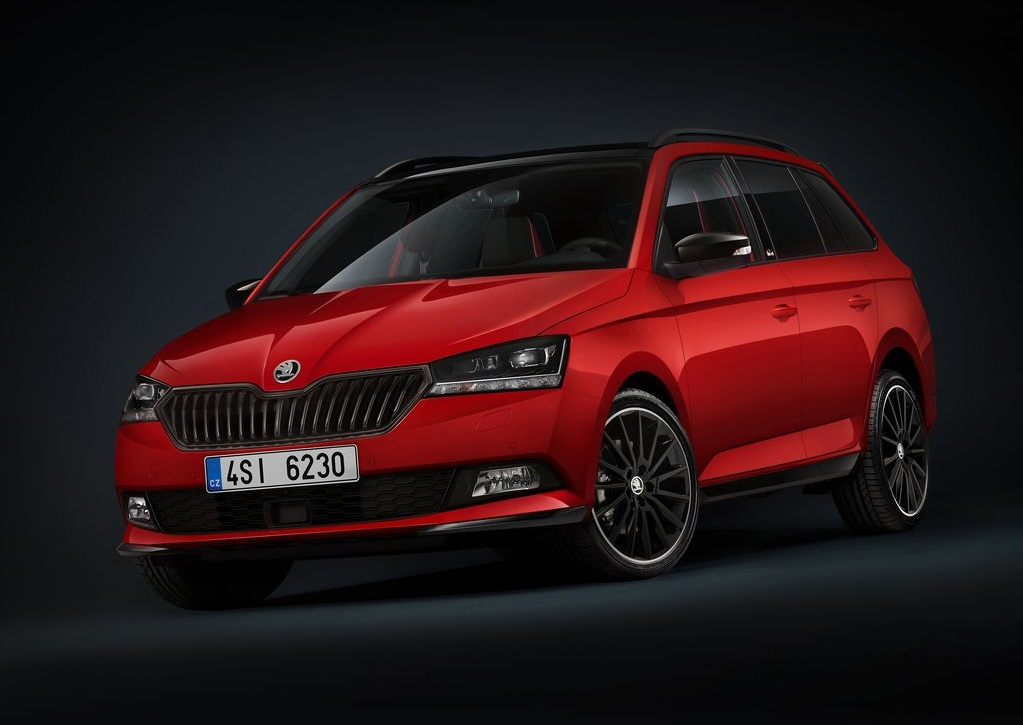 2019 skoda fabia combi. Black Bedroom Furniture Sets. Home Design Ideas