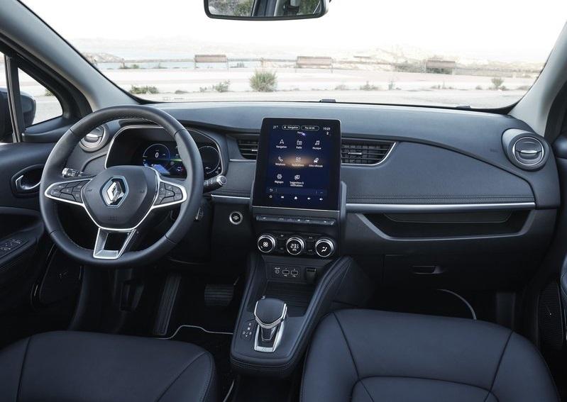 Renault Zoe-dashboard