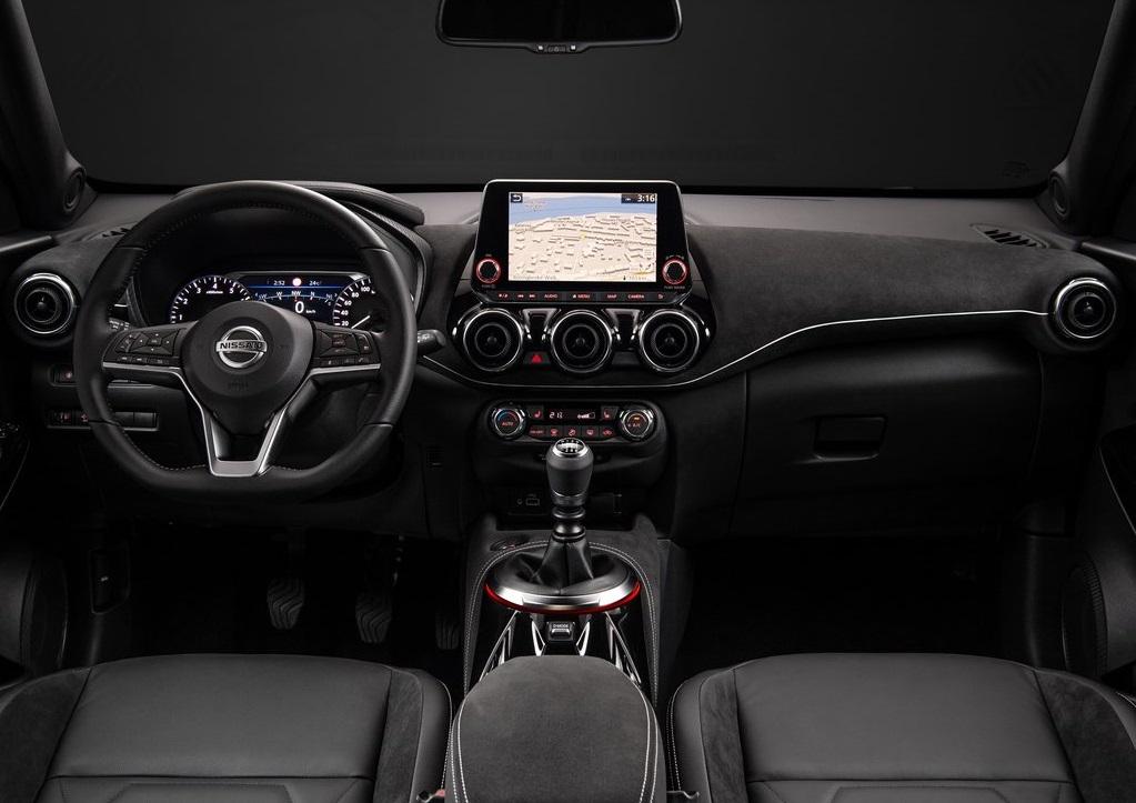 Yeni Nissan Juke dashboard