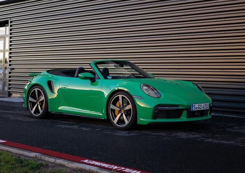 2021 Porsche 911 Turbo Cabrio