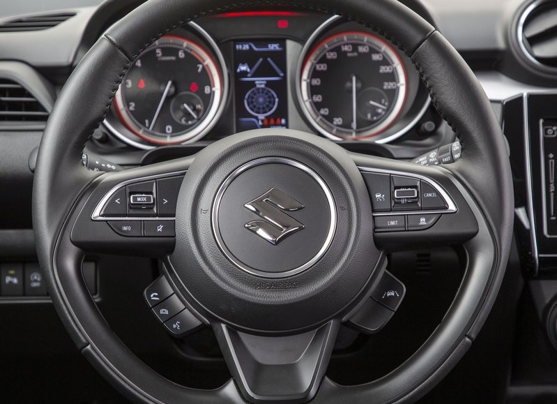 2021 Suzuki Swift steering wheel