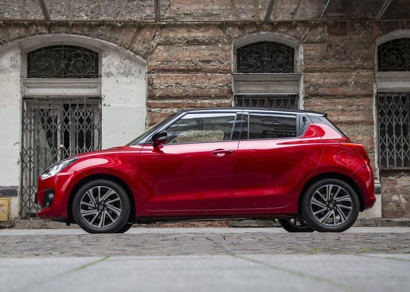 Suzuki Swift-profil görünüm