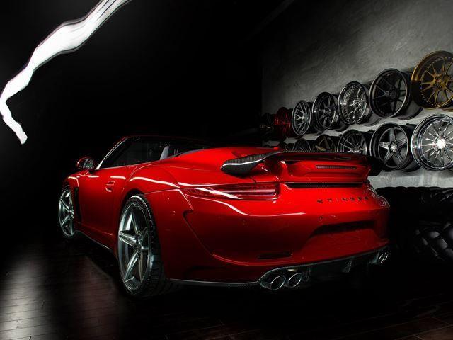 PORSCHE 911 CABRIO tuned by TOPCAR