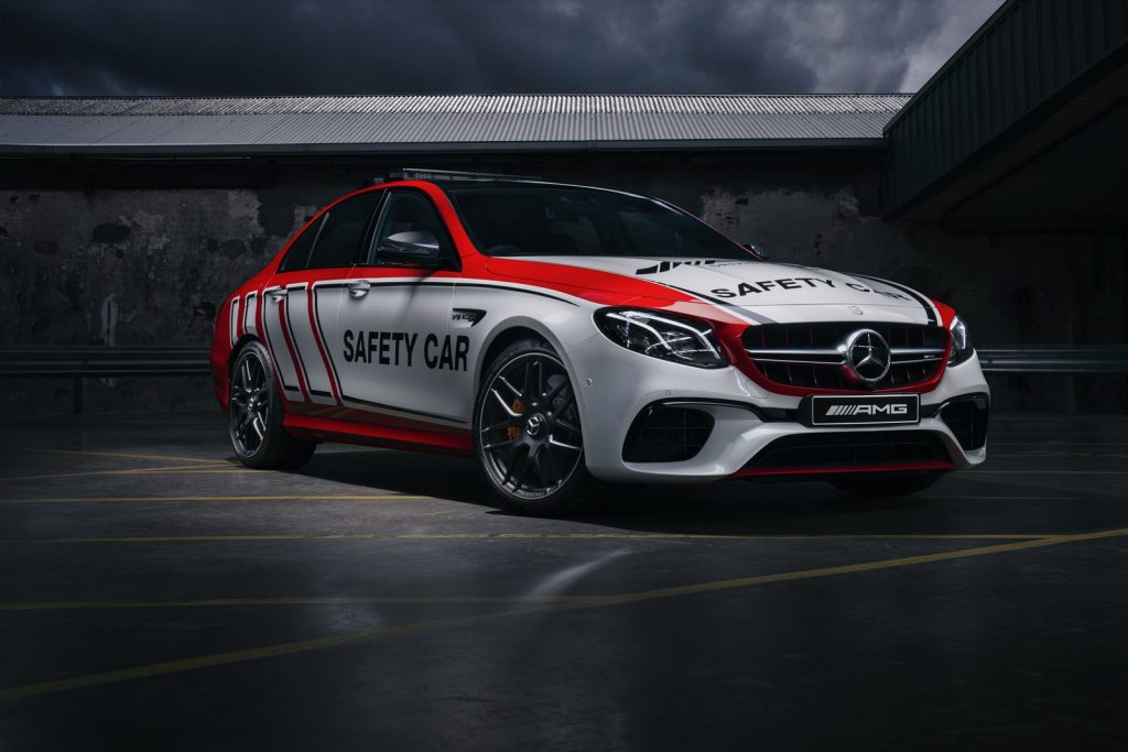 AMG E-63S SAFETY CAR