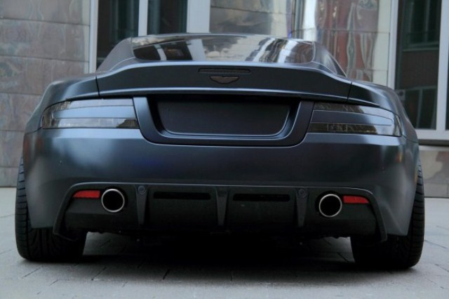 MATTE BLACK ASTON MARTIN DBS tuned by ANDERSON GERMANY