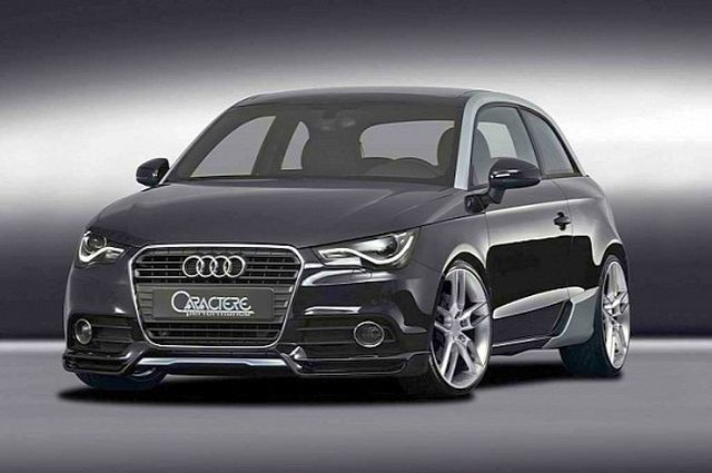 AUDI A1 tuned by CARACTERE