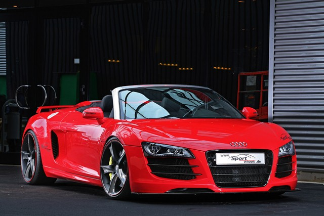 AUDI R8 TUNED by SPORT WHEELS