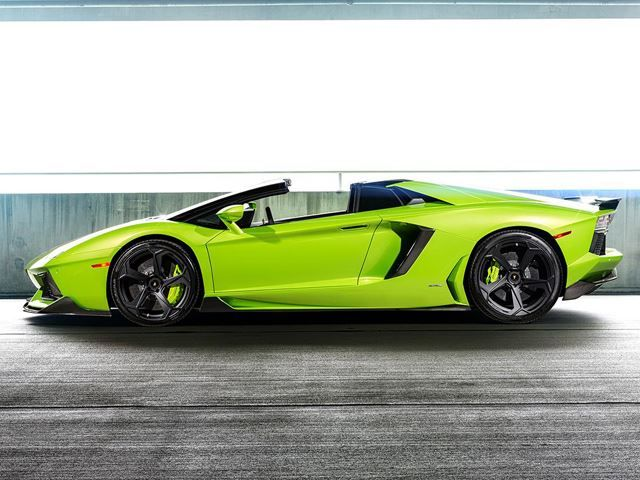 Lamborghini AVENTADOR tuned by VORSTEINER Hulk Style