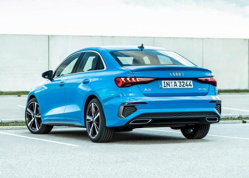 Audi A3 Sedan Blue
