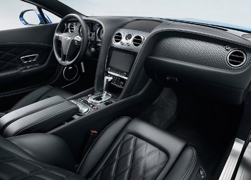 2013 BENTLEY CONTINENTAL GT SPEED steeringwheel and gearknob
