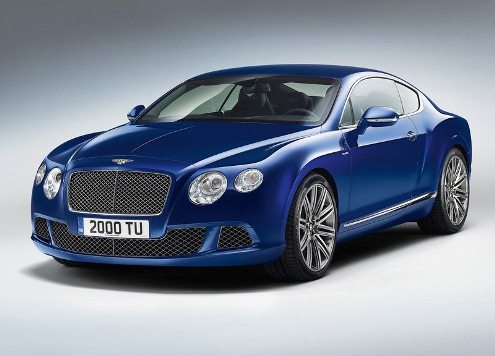 BENTLEY CONTINENTAL GT SPEED Pictures