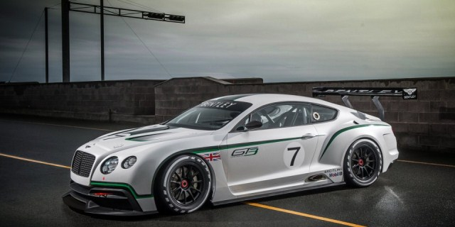 BENTLEY CONTINENTAL GT3 Race Car pic