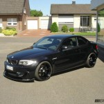 BMW 1M MANHART Black BiTURBO
