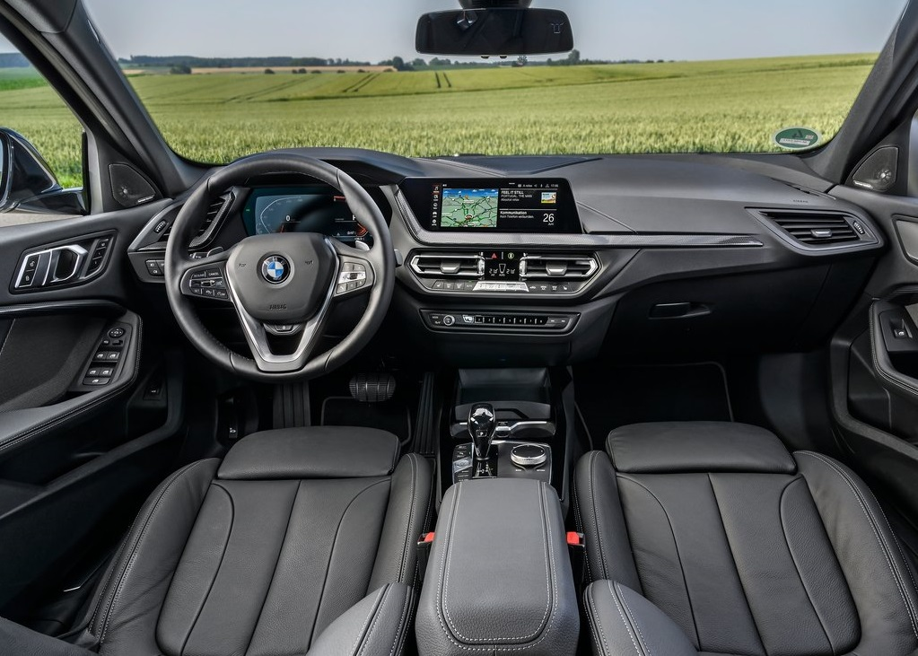 BMW 1 Serisi-dashboard