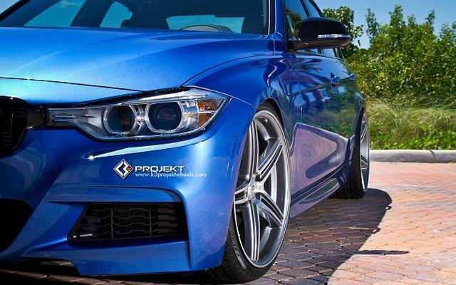 BMW 3SERIES F30 tuned by K3 PROJECT
