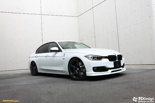 BMW 3 SERIES F30 tuned by 3D DESIGN