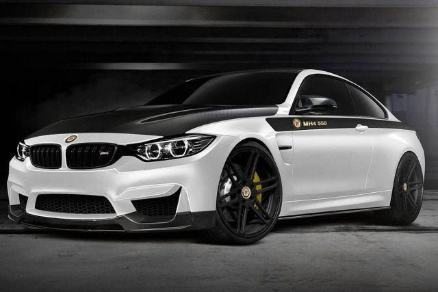 BMW M4 tuned by MANHART
