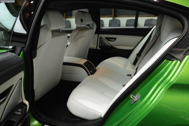 BMW M6  by ABU DHABI MOTORS - Individual Java Green