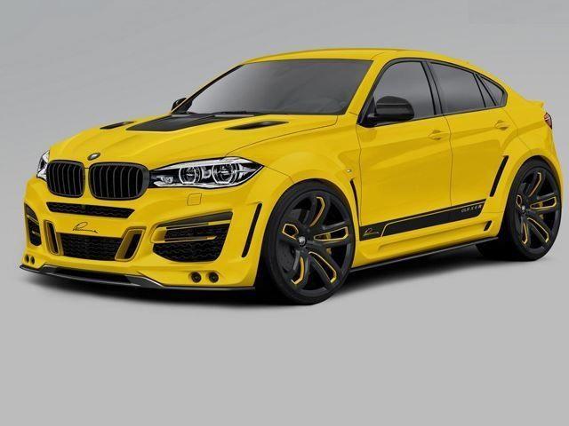 BMW X6 tuned by LUMMA DESIGN