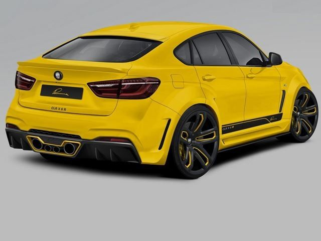 BMW X6 tuned by LUMMA DESIGN
