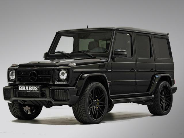 MERCEDES G63 tuned by BRABUS