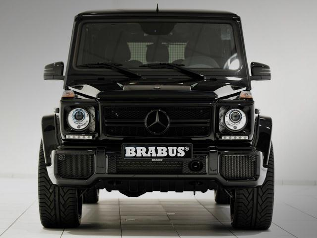 Black_MERCEDES_G63_tuned_by_BRABUS_front_pic-5