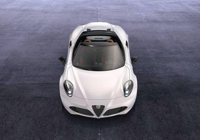 Concept ALFA ROMEO 4C Spider