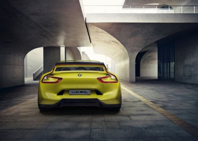 Concept BMW 3.0 CSL HOMMAGE