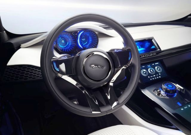 concept new jaguar c x17 suv 4x4 oopscars. Black Bedroom Furniture Sets. Home Design Ideas