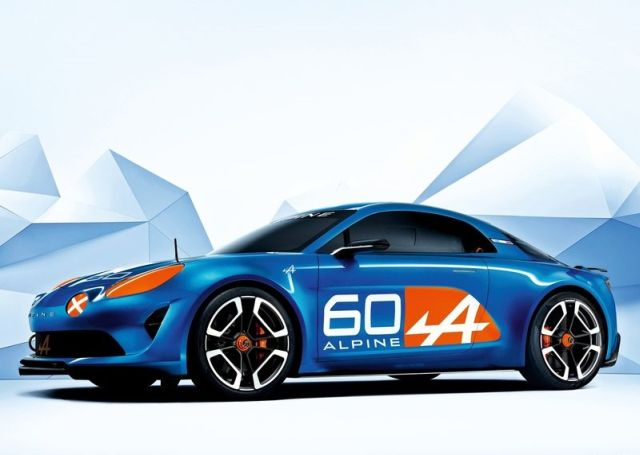 Concept RENAULT ALPINE CELEBRATION