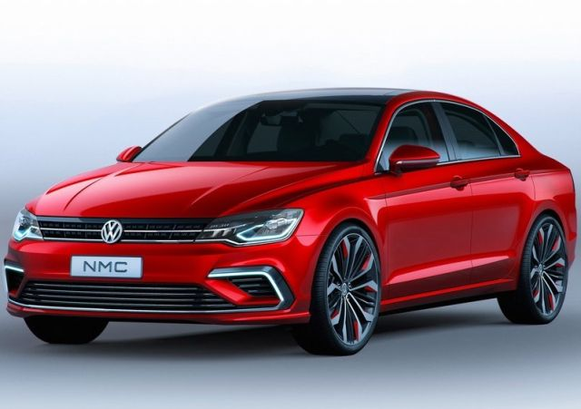 Concept VW NEW MIDSIZE COUPE