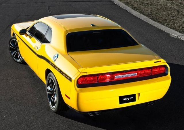 DODGE_Challenger_SRT8_Yellow_Jacket_front_pic-3