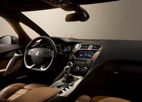 2013 CITROEN DS5 interior , dashboard & steeringwheel