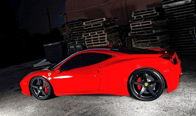 FERRARI 458 ITALIA tuned by VORSTEINER