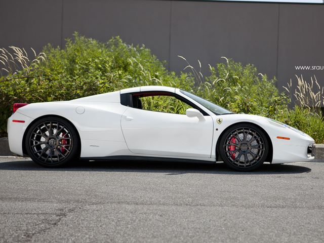 FERRARI 458 SPIDER tuned by SR AUTO