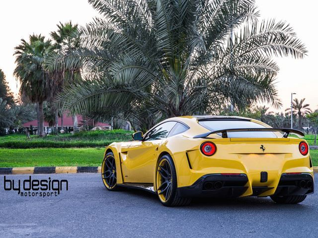 FERRARI F12 tuned by BY DESIGN Motorsport
