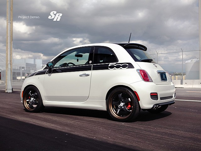 fiat 500 tuning by sr oopscars. Black Bedroom Furniture Sets. Home Design Ideas