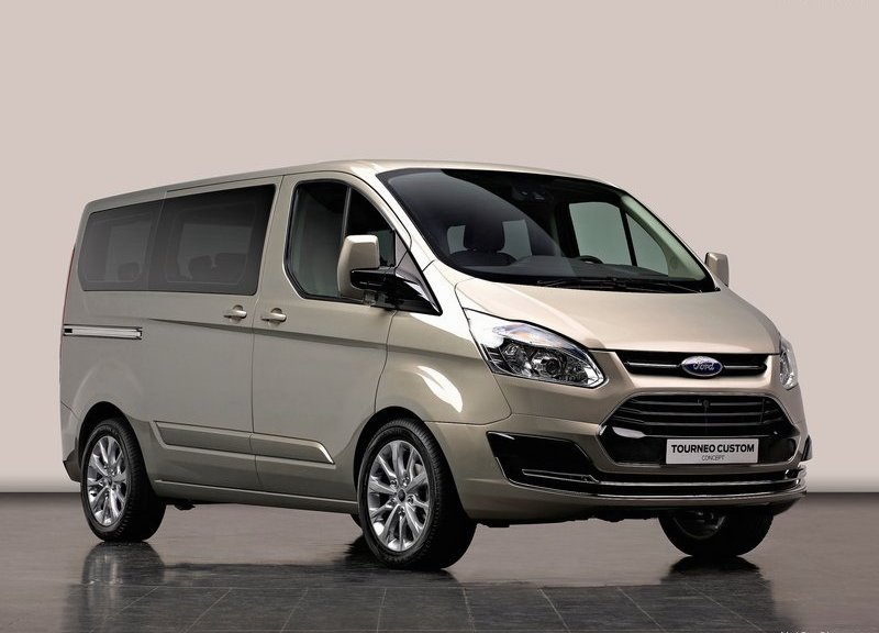 FORD TOURNEO CUSTOM 1 2013 YENİ FORD TRANSİT
