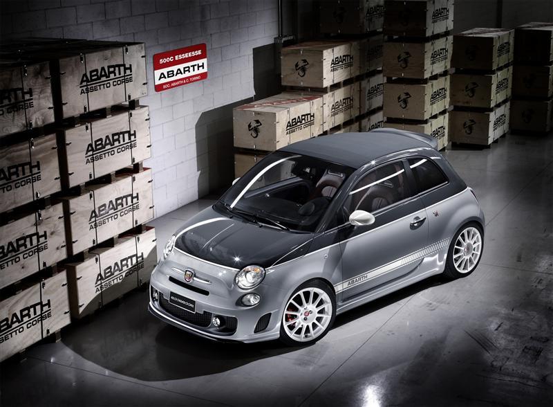 Fiat Abarth 500C esseesse 2011