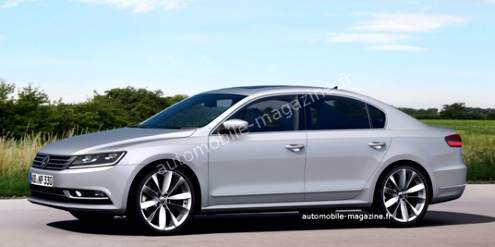 Future VW Passat