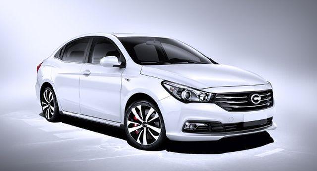 GAC-TRUMPCHI-GA3S -Chinese car