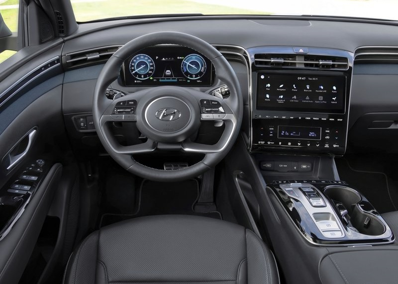 Hyundai Tucson -dashboard