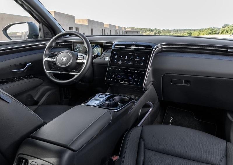 2021 Hyundai Tucson -interior