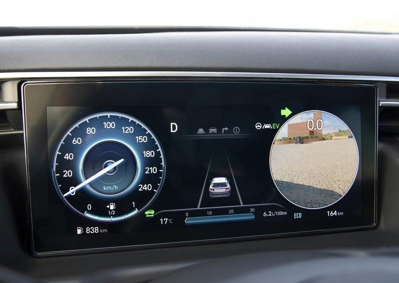 Hyundai Tucson -yan kamera