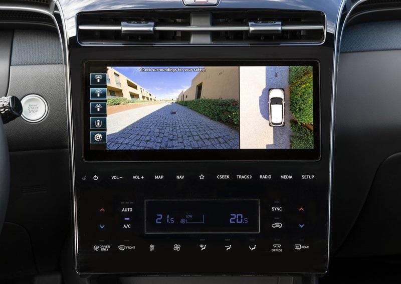 Hyundai Tucson - 360 kamera