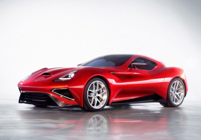 ICONA VULCANO Super car