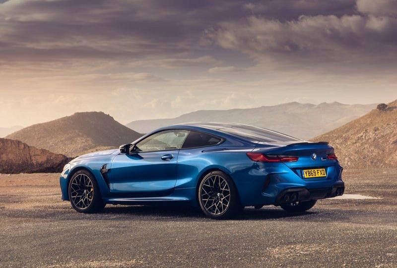 2020 BMW M8 Competition Coupe-  arka görünüm